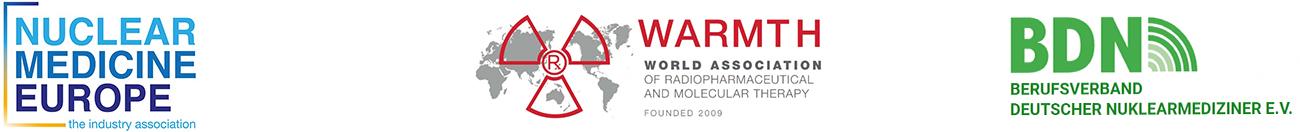 Logos of NMEu, WARMTH and BDN